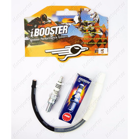 Kit Esportivo Ibooster F3 + Ngk Iridium Cg Titan Fan 150