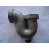 Sifón 1 1/2 Aluminio Para Fregadero Industrial Con Rosca