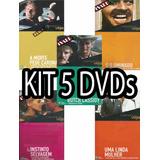 Kit 5 Dvd Cinemateca Veja Abril Filme Clássicos Cinema Cult