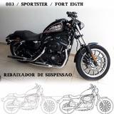 Kit Rebaixamento + Kit Lift P/ Tanque Harley Davidson