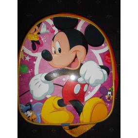 Lote 10 Mochilas Dulceros Mickey Mouse Fiesta