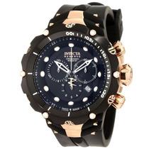 Relógio Invicta 1524 Venom 2 Reserve Ouro Rose Em Até 12x.
