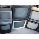 Televisores 13 Pulgadas Para Refacciones O Reparar