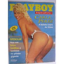 Playboy Especial 258a Superpôster Carla Perez A Rainha Loura