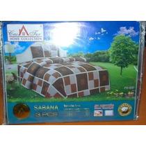 Sabanas De 1 Plaza Y Media Marca Casatex 100 % Algodon X6