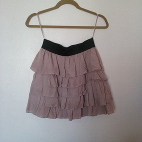 Limpia De Closet - Falda Zara Olanes Seminueva