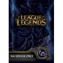 League Of Legends $ 25 Gift Card - 3500 Riot Points - Na Ser