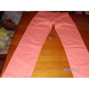 Jeans Naranja Martina Di Trento Talle 36