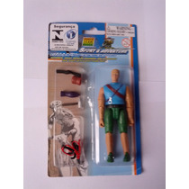 Boneco Power Team Elite - 10cm - Estilo Gi Joe Alpinista 2