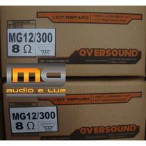 Reparo Alto-falante Oversound 12 Mg-300 8 Ohms
