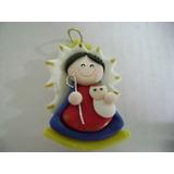 Dije Virgen De Chiquinquira En Masa Flexible