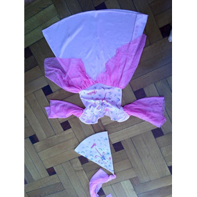 Disfraz Vestido Hada Barbie Talle 5/6 + Gorro