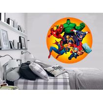 Adesivo Parede Quarto Infantil Super Heroi Vingadores Hulk