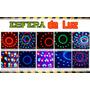Cristal Ball Dmx Luz Disco 5 Colores Secuencia Audio Rítmico