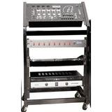 Rack Junior Para Mezcladores ,planta Y Amplificadores