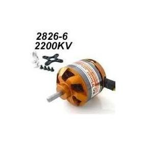Motor Brushelles Rc Timer 2826 2200kv + Montante + Spiner