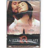 Dvd A Letra Escarlate - Classicline - Bonellihq Cx345 G17