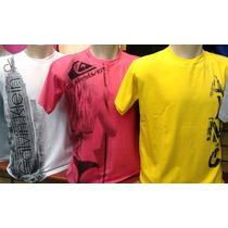 Kit C.10 Camisetas Simples De Marca Famosa Atacado Revenda