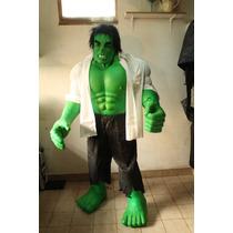 Disfraz Del Increible Hulk Completo Realista..