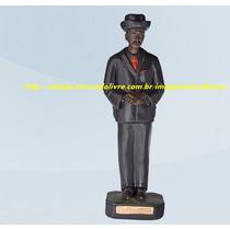 Escultura Zé Pretinho Pilintra Malandro Lapa Rj Imagem 20cm