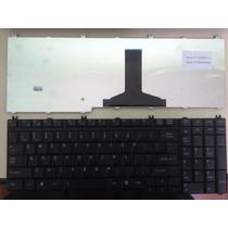Teclado Toshiba L350 L500 L550 P200 P300 A500 A505 Preto