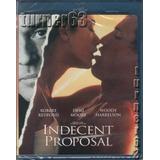 Blu-ray **** Propuesta Indecente **** Imp Nuevo Sellado