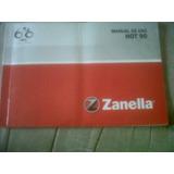 Zanella Hot 90cc Manual Del Usuario Original !!!!!!!!!!!