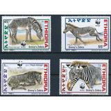 Fauna - Wwf - Cebra Real - Etiopía - Serie Mint (mnh)