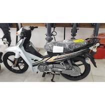 Moto Yamaha Crypton T110 Disk 0km Blanca/azul