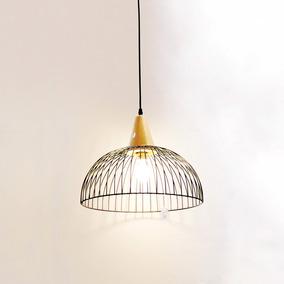 Lámpara De Techo Morph Diseño Enea Madera Marrón