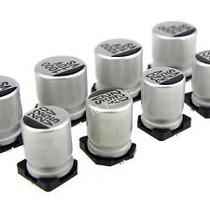 Capacitor Smd Eletrolitico Corpo Aluminio