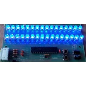 Audio Vu 2 Canais Digital 32 Led 5mm Microcontrolado A0