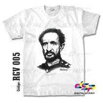 Remeras Reggae Selassie 5 Estampado Digital Stamp, Miralas!