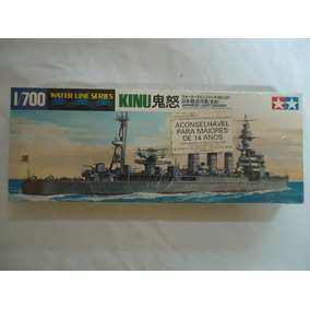 Kit Da Tamiya Kinu Cruzador Japonês Escala 1/700