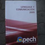 Cepech Preparacion Psu Lemguaje Y Comunicacion, Año 2009