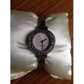 Reloj Dama Coach Plateado