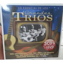 Lo Esencial De Los Grandes Trios. 3 Cd´s + 1 Dvd. Nuevo.