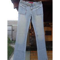 Calça Jeans Rasgada Feminina, Calça Jeans Com Detalhes.