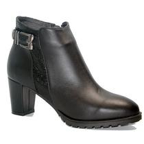 Gravagna - Bota Cuero Negro - Articulo 4501
