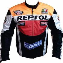 Jaqueta Honda Repsol Nylon Cordura Motociclista Impermeável