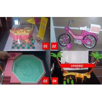 Conjunto De 10 Brinquedos Barbie - Anos 80 Da Estrela