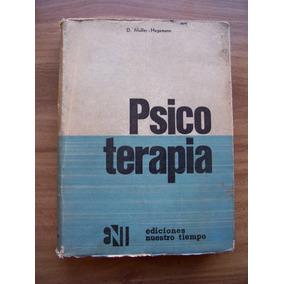 Psicoterapia-1964-aut-d.muller Hegman-edi-nuestro Tiempo-pm0