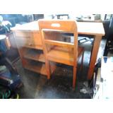 Escrivania De Madeira Antiga Anos 70