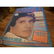 Revista Antiga De Canção Musicas Do Roberto Carlos
