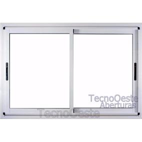 Ventana Aluminio Modena Vidrio Hermético 200x110 Dvh 4/9/4