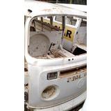 Vw Volkswagen Perua Kombi Sucata 1994 Branca Carcaça