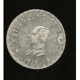 Un Peso Oaxaca Plata 1915 (tres)