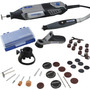 Micro Retifica Dremel 4000 + Kit 205 Acessório + Maleta 110v