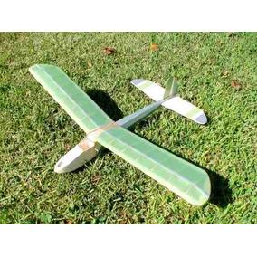 Kit Para Montar Aeromodelo Neguinho - Planador De Vôo Livre