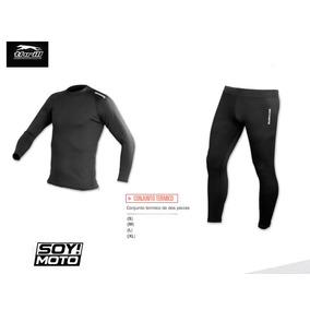 Conjunto Termico Ride Max Moto Pantalon Y Remera Devotobikes